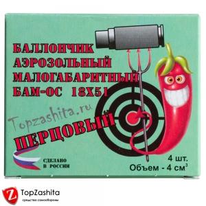 БАМ Перцовые 18х51 (ОС.000), 4 шт/уп