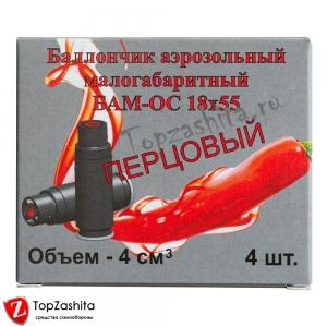 БАМ Перцовые 18х55 (ОС.000), 4 шт/уп