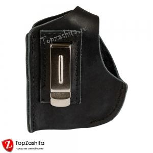 Кобура поясная для аэрозольного пистолета (устройства) Премьер 4 с металлической клипсой